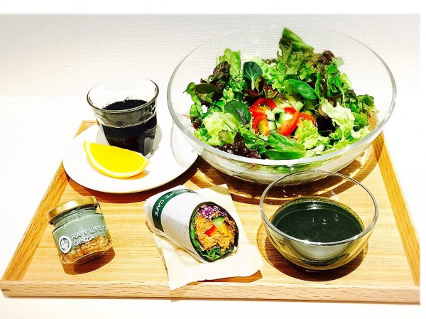 Ginza Raw Life café/Spirulina (Health improvement) set