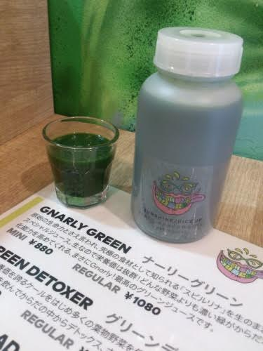 SUNSHINE JUICE/Gnarly Green Cold Press Juice